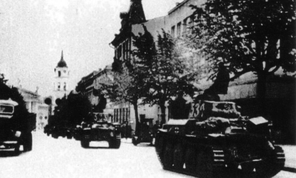 Einmarsch in Wilna 1941 (Bartusevičius)