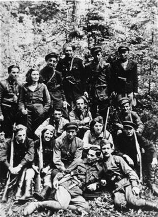 Partisanen aus dem Ghetto Kaunas ca. 1944 (USHMM)