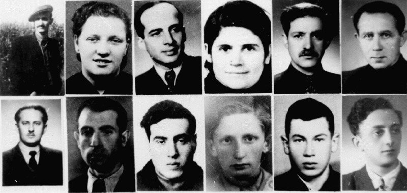 Führer der AKO (Yelin oben links, H.E.A.R.T)