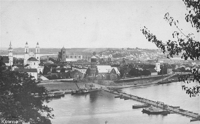 Kaunas vor dem Zweiten Weltkrieg (USHMM)