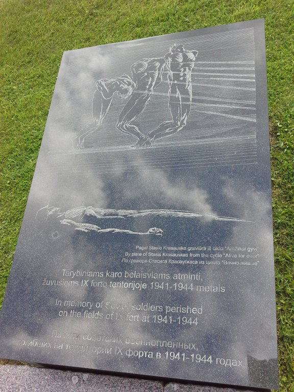 Gedenkstein für sowjetische Kriegsgefangene