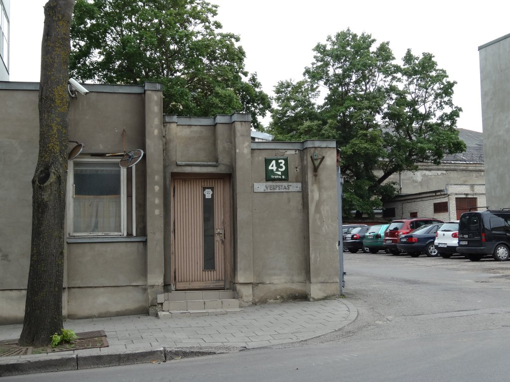 Heutiger Standort der ehemaligen Ghetto-Synagoge