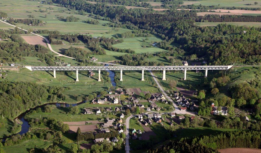 Eisenbahnbrücke bei Lyduvenai (wiki)