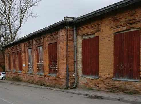 Verlassenes Gebäude der ehemalige Jeschiwa heute  (alles-ueber-litauen)