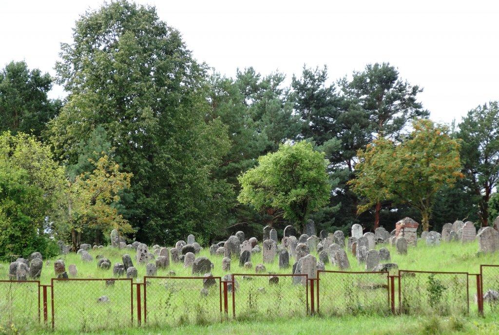 Der ehemalige Jüdische Friedhof