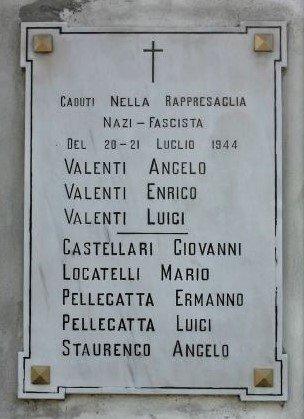 Gedenktafel am Ort der Hinrichtung