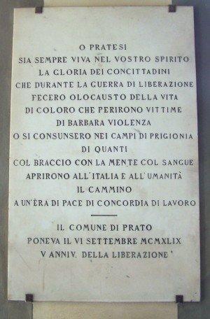 Gedenkstein Befreiung (Baldini)