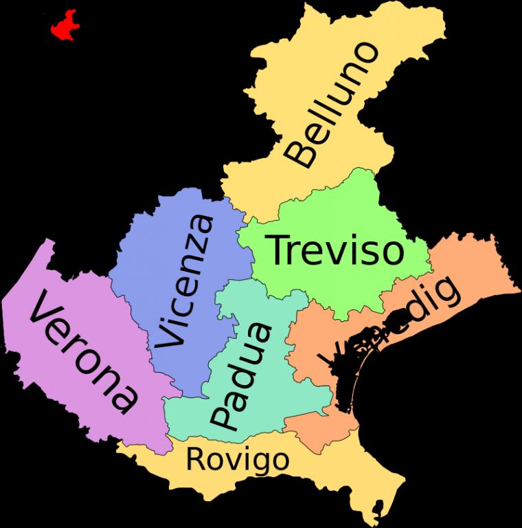 Provinzen der Region Friaul-Julisch-Venetien (wikipedia)