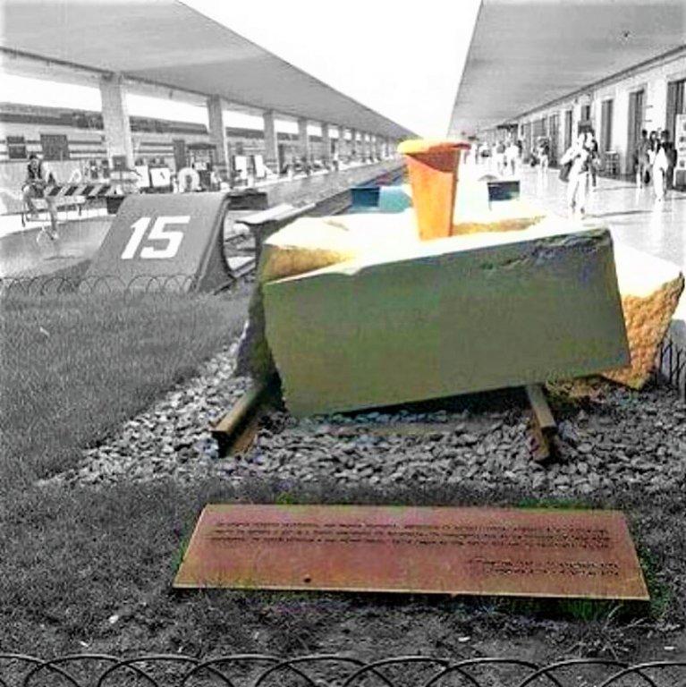 Gedenkstätte am Gleis 16 (Foto: facebook)