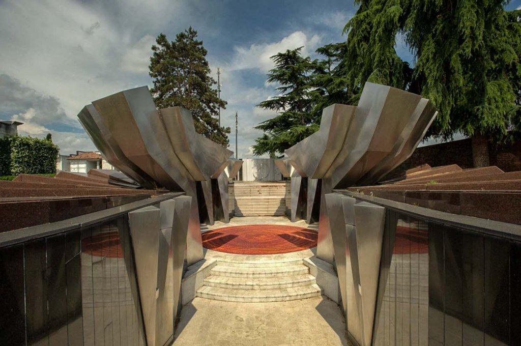 Slowenisch-kroatische KZ-Gedenkstätte Gonars