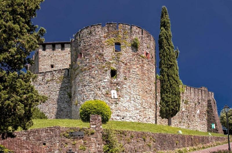 Die Burg von Gorizia, der zentrale Exekutionsplatz