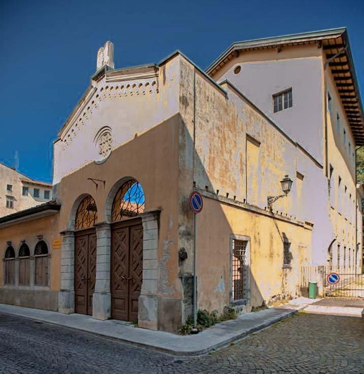 Die Synagoge von Gorizia