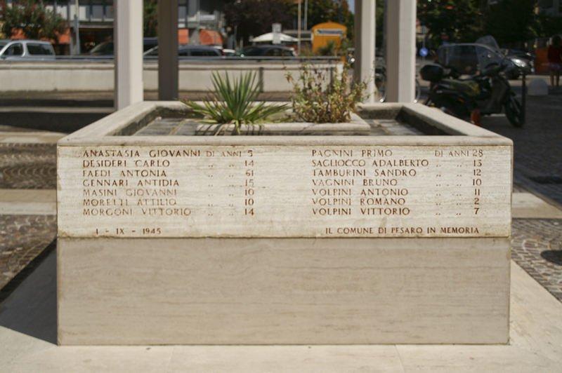 Monument für die Opfer der Piazzale degli Innocenti