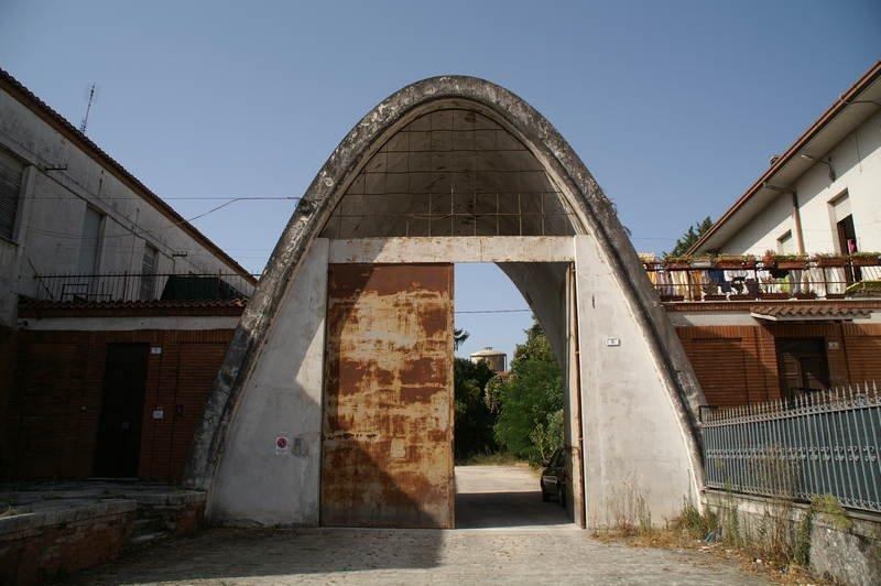 Eingang zum ehemaligen Lager