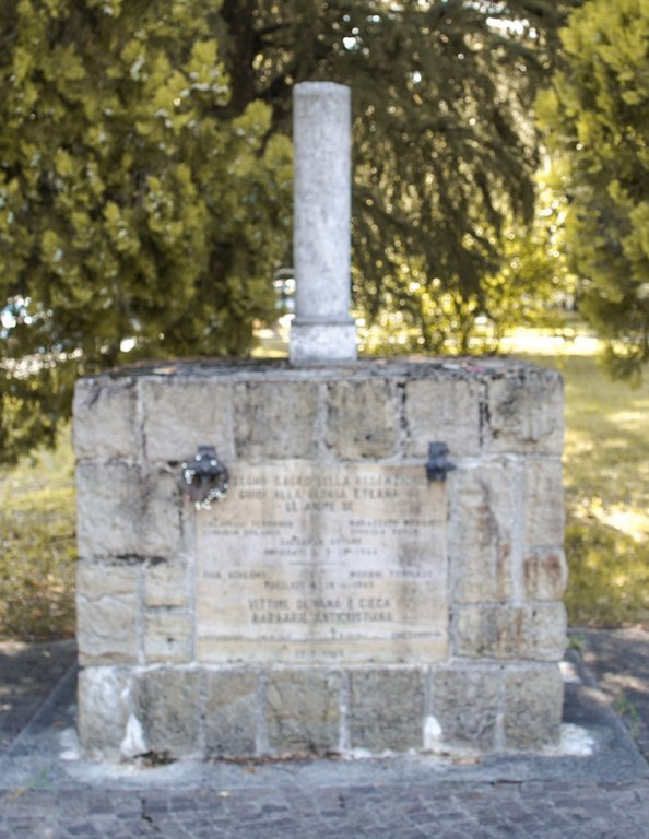Gedenkstätte für die 7 am 17. August 1944 Erschossenen