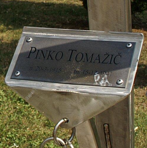 Detailansicht der Gedenkstätte in Fontane