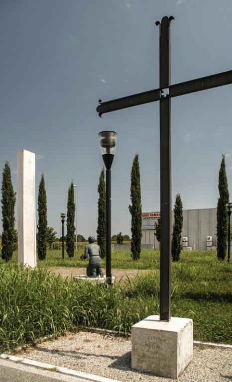 Gedenkstätte in Castello di Godego