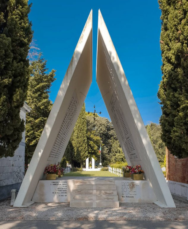 Gedenkstätte auf dem Friedhof San Lazzaro