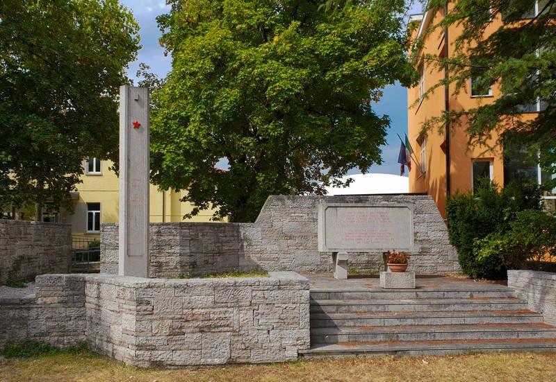 Monumento alla Resistenza in Doberdò del Lago