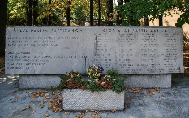 Monumento ai Partigiani Caduti (Detail)