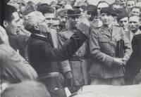 Der neue Bürgermeister nach der Befreiung, Levie (Quelle: http://tousbanditsdhonneur.fr)