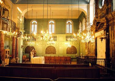 Innenraum der Synagoge; Quelle: wikimedia commons
