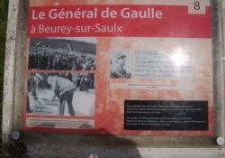 de Gaulle in Beurey