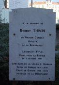 Gedenktafel für Robert Thivin (Combat)