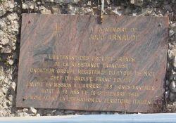 Gedenktafel an Jojo Arnaldi