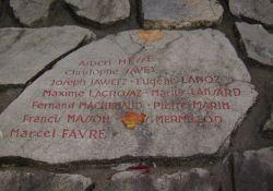 Jean Moulin-Denkmal, Ausschnitt