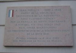 Gedenktafel Jean Moulin/MUR