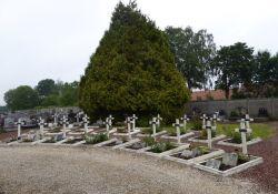 Gräber erschossener Einwohner/innen