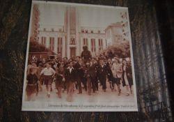 Befreiung Villeurbannes am 2.9.1944; hist. Foto im Rathaus