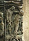 Detailansicht Gedenkstele für Berthoud