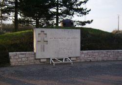 Gedenkstein an Résistants und Deportierte