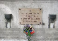 Gedenktafel für getöteten Polizisten