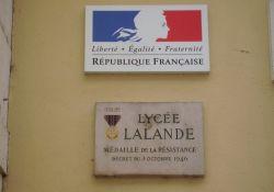 Resistance-Medaille für Lycée Lalande