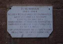 Gedenktafel-Inschrift