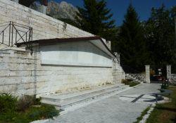 Gedenstätte auf dem Friedhof