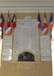 Gedenktafel der Kriegstoten im Rathaus