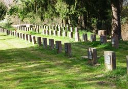Grabsteine sowjetischer Opfer, Hauptfriedhof