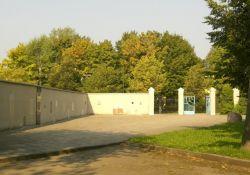 Eingang zum jüdischen Friedhof