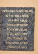 Tafel Jean Chapus