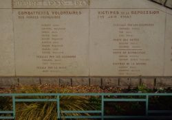 Monument 1939-1945 - Ausschnitt