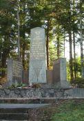 Denkmal beim Sägewerk Barodet