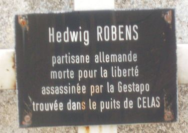 Grab von Hedwig Robens-Rahmel in Alès