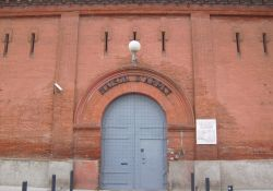 Gefängnis St. Michel; Metro: Saint-Michel, Marcel Langer