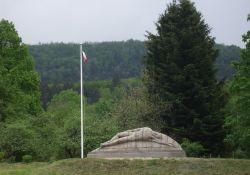 'Le Gisant' (Liegender) - Résistance-Denkmal