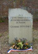 Gedenkstein Bombenopfer