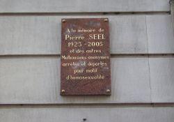 Gedenktafel Pierre Seel